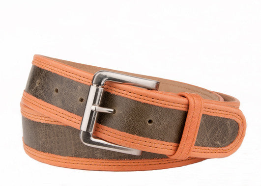Keggy Guy Belt (Olive/Orange)