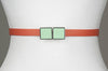 Square Enamel Buckle (Mint Green)
