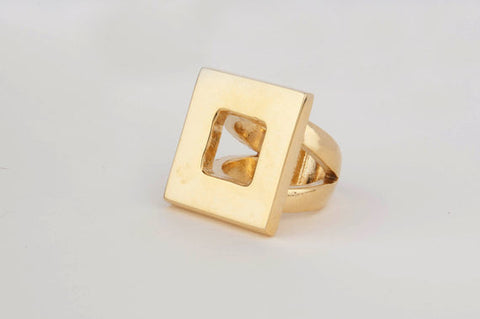 Square Cutout Ring