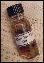 FOLLOW ME GIRL OIL - Commanding, Control, Passion