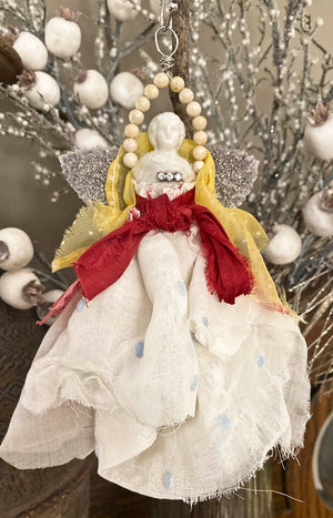 Online class; Christmas 2019 ornament... Angels among us