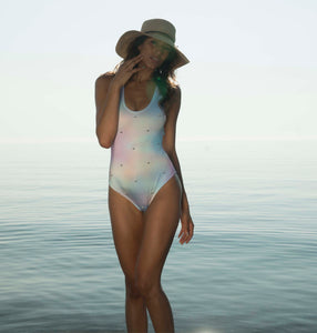 Rainbow Pastel Sparkle One Piece