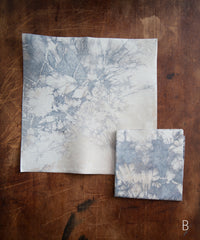 Tie-Dye Leather Cocktail Napkins