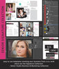 Senior Magazine Template for Photographers, Welcome Pricing Guide Marketing Template - Signature Design, Text Included INSTANT DOWNLOAD