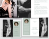 Boudoir Photography Templates, Photoshop Templates, Boudoir Trifold Brochure, Business Card, Gift Certificate, Thank You, BM600 by Savant Design Templates