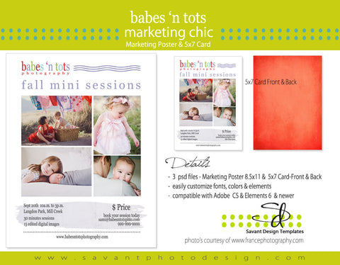 Babes N Tots Studio Marketing & Mini Sessions