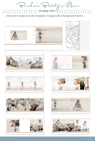 Photography Album Templates  Accordian  Storyboard Templates