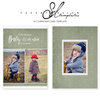 Baby It's Cold Outside Christmas Card Template by Savant Design Templates