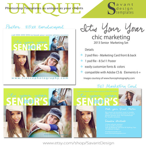 It's Your Year Senior Grad Photography Studio Marketing & Mini Sessions