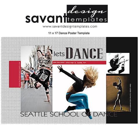Dance Poster Template, Photography