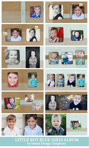 Photography Album Templates - Accordian & Storyboard Templates