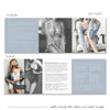 Boudoir Marketing and Branding Template Set for Photographers, Welcome Price Guide, Business Card, Trifold Brochure, Photoshop Templates, BO302 Savant Design Templates