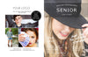 Magazine Template Cover Design for Senior Photographers by Savant Design Templates