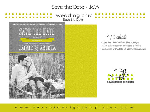 Save the Date Announcement J&A