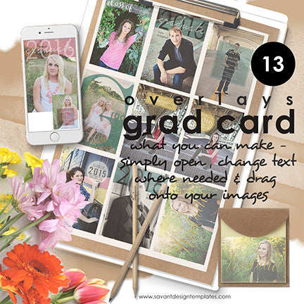 Senior Graduation Templates | Savant Design Templates