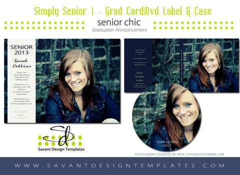 Simply Senior 1 Grad Set