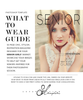 What to Wear Guides for Senior Girls and Senior Guys Set in Photoshop Template format, Two What to Wear Guides Photography Template, Photography Marketing Template, Welcome Guide, WTG100S