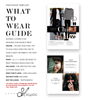 What to Wear Guide Senior Girls, Photoshop Template, Photography Template, Welcome Guide, Photography Marketing Template, WTG100G