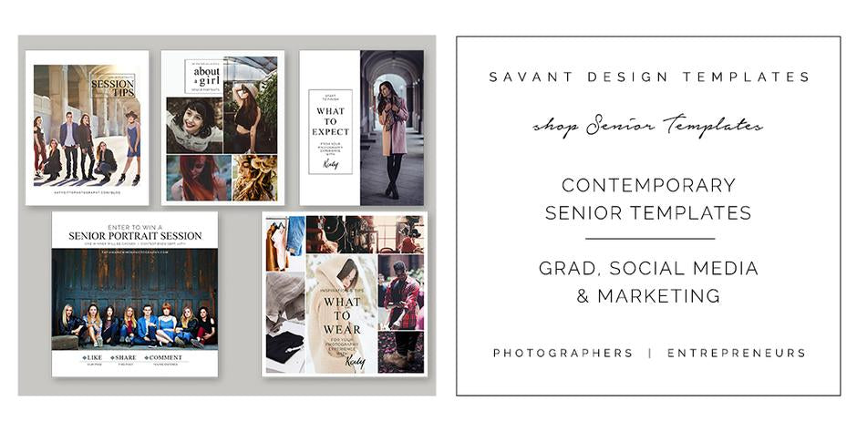 https://www.savantdesigntemplates.com/collections/senior-graduation-announcement-templates