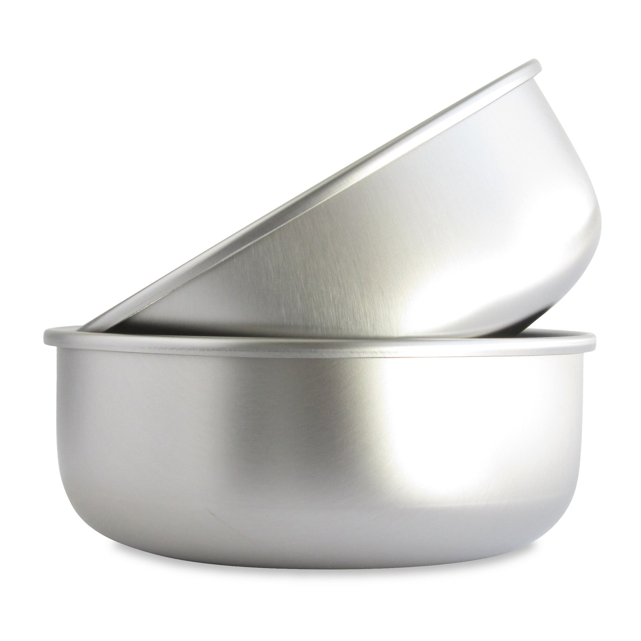 Stainless Steel Dog Bowls Made in USA - BASIS PET