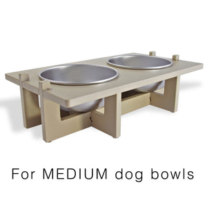 Rise Pet Bowl Stand For Medium Bowls, Main Image