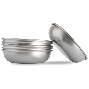 Basis Pet Stainless Steel Cat Dish Made in USA 6-pack View