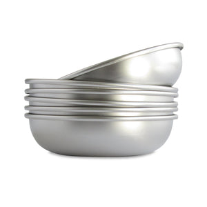 Basis Pet Stainless Steel Cat Dish Made in USA Main Image
