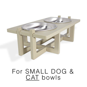 Rise Pet Bowl Stand for Small Dog and Cat Bowls, Main Image