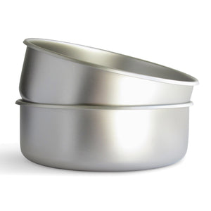 Stainless Steel Dog Bowls - Made in the USA