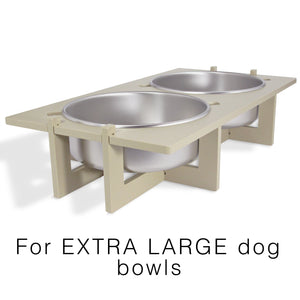 Rise Pet Bowl Stand, For Extra Large Bowls, Main Image