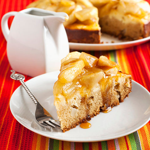 Apple Spread Cheesecake - Gina's Gourmet Pantry