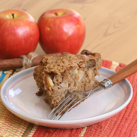 Apple Spread Spiced Coffee Cake - Gina's Gourmet Pantry