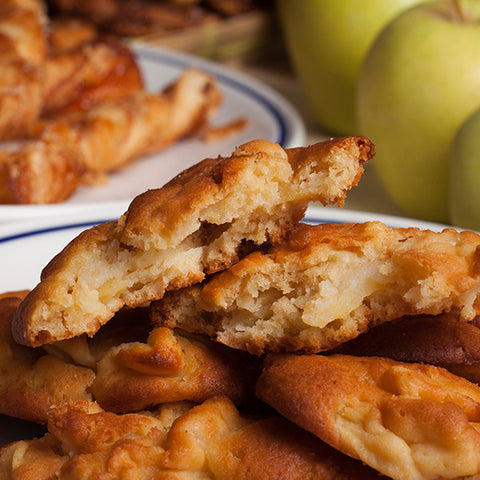 Apple Spread Fritters - Gina's Gourmet