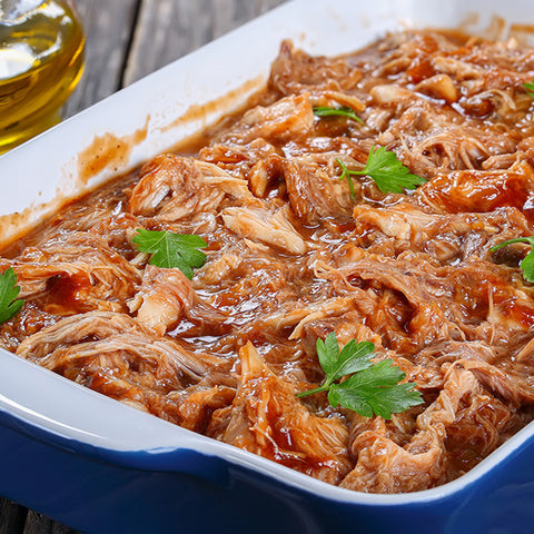 Apple Spread Slow-Cooked Chicken - Gina's Gourmet