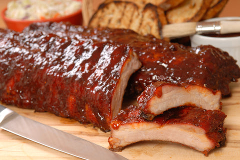 Apple Spread Baby Back Ribs - Gina's Gourmet