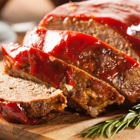 Apple Spread Meatloaf - Gina's Gourmet