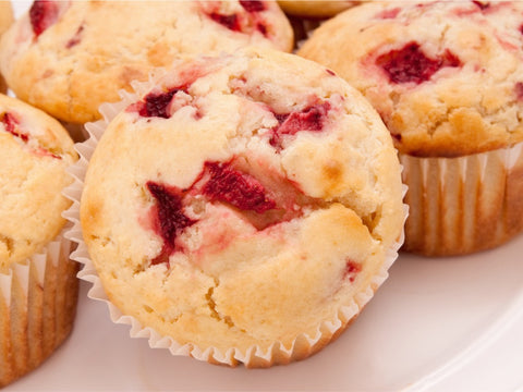 Strawberry Muffins - Gina's Gourmet