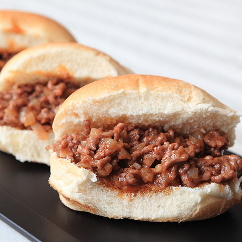 Apple Sloppy Joe Sliders - Gina's Gourmet Pantry