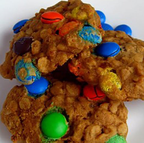 Pumpkin Monster Cookies - Gina's Gourmet