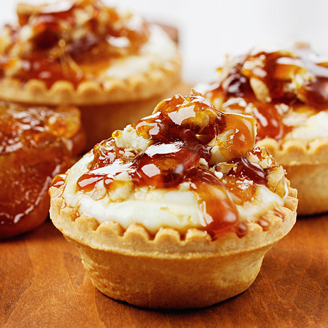 Apple Spread Pecan Tartlets - Gina's Gourmet