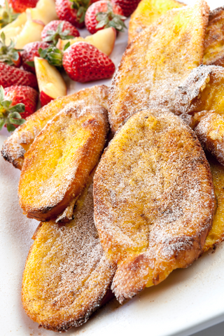 Peach French Toast Casserole - Gina's Gourmet