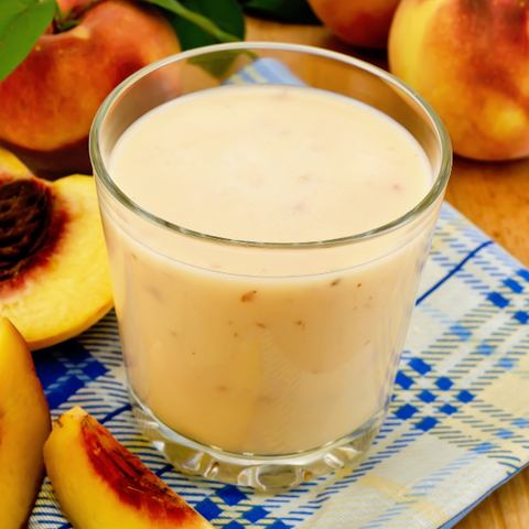 Peach Smoothie - Gina's Gourmet