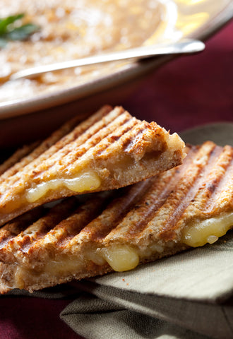 Pear and Bacon Grilled Cheese - Gina's Gourmet Pantry