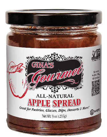 9 oz Apple Spread | Gina's Gourmet