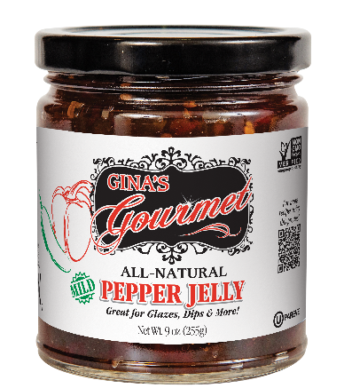 9 oz Pepper jelly - Coming soon! | Gina's Gourmet