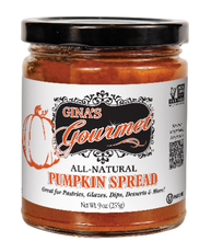 Load image into Gallery viewer, Gina's Gourmet 9 oz Pumpkin Spread