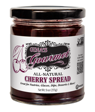 Load image into Gallery viewer, All-Natural Cherry Spread 9 oz ~ Wholesale: 6 units per case