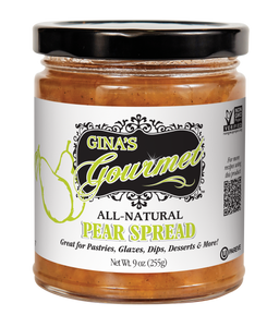 All-Natural Pear Spread | Gina's Gourmet