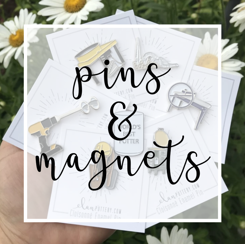 Enamel Pins and Magnets