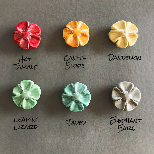 Flower Earrings - Your choice color